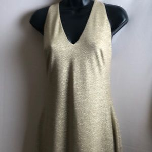RALPH Lauren Dress GOLD Zise 4